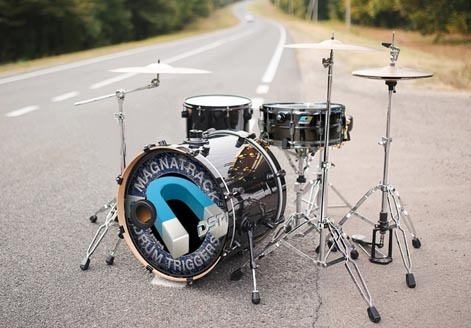 magnatrack drum triggers for drummers attracted to performance. Black Bedroom Furniture Sets. Home Design Ideas